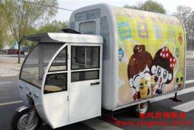 夏天到了,弄辆移动冷饮小车能不能赚钱?